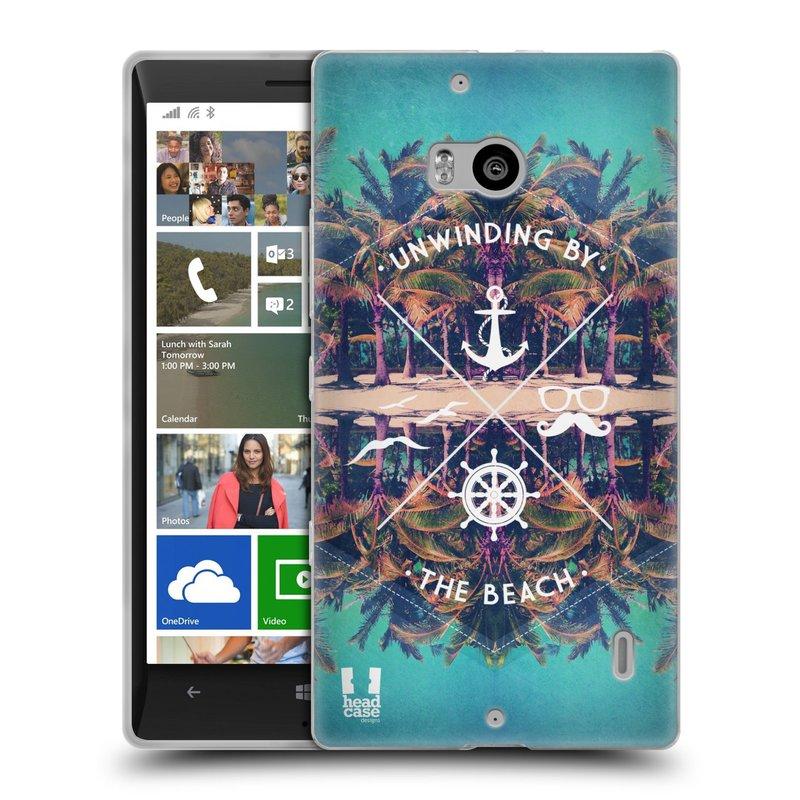 Silikonové pouzdro na mobil Nokia Lumia 930 HEAD CASE Bezvětří (Silikonový kryt či obal na mobilní telefon Nokia Lumia 930)