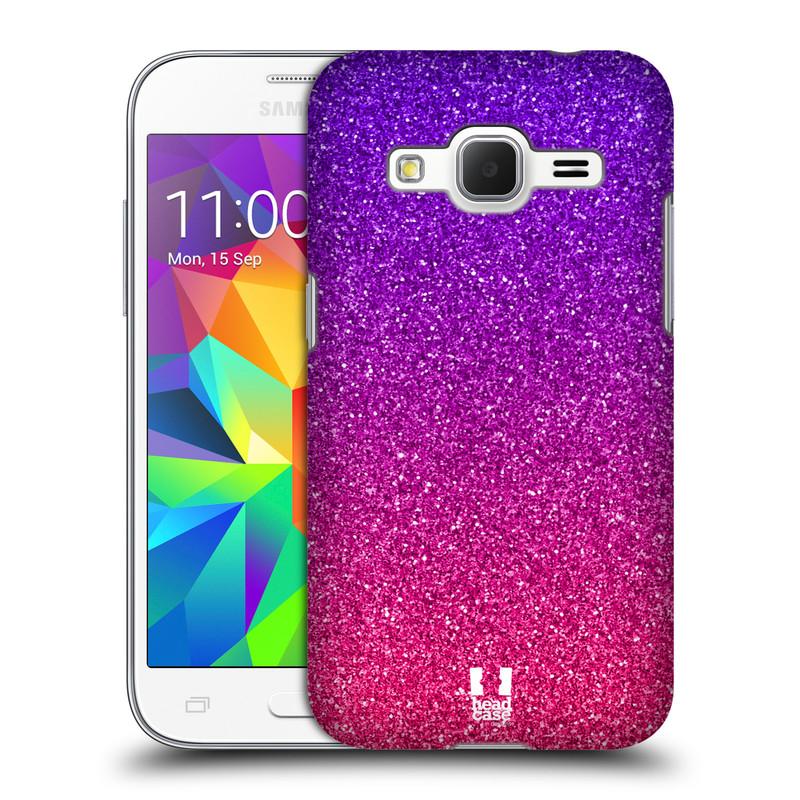 Plastové pouzdro na mobil Samsung Galaxy Core Prime LTE HEAD CASE MIX PINK (Kryt či obal na mobilní telefon Samsung Galaxy Core Prime LTE SM-G360)