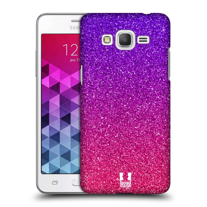 Plastové pouzdro na mobil Samsung Galaxy Grand Prime HEAD CASE MIX PINK (Kryt či obal na mobilní telefon Samsung Galaxy Grand Prime SM-G530)