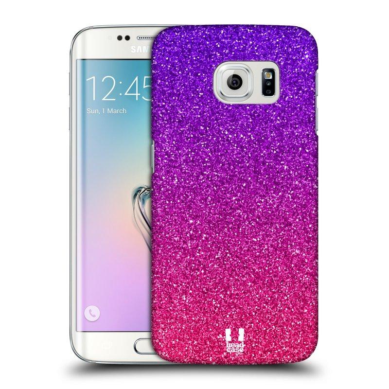 Plastové pouzdro na mobil Samsung Galaxy S6 Edge HEAD CASE MIX PINK (Kryt či obal na mobilní telefon Samsung Galaxy S6 Edge SM-G925F)