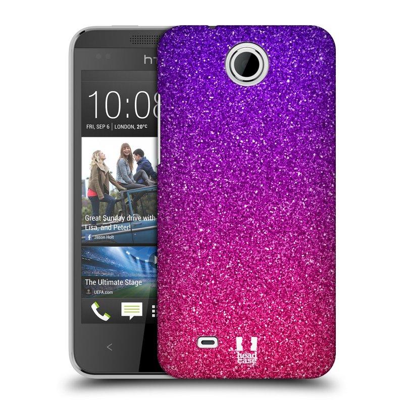 Plastové pouzdro na mobil HTC Desire 300 HEAD CASE MIX PINK (Kryt či obal na mobilní telefon HTC Desire 300)