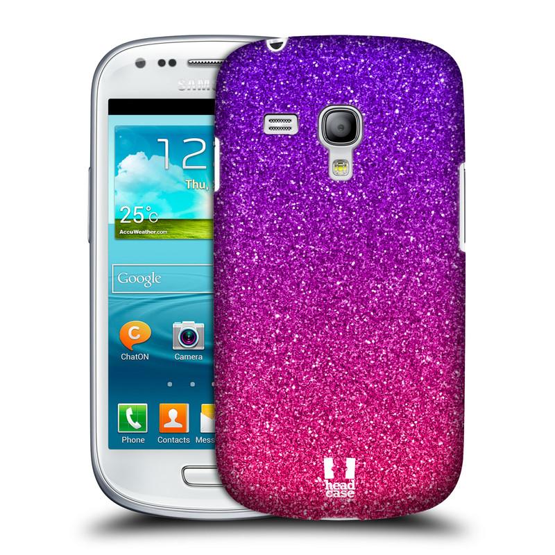 Plastové pouzdro na mobil Samsung Galaxy S III Mini HEAD CASE MIX PINK (Kryt či obal na mobilní telefon Samsung Galaxy S III Mini GT-i8190)