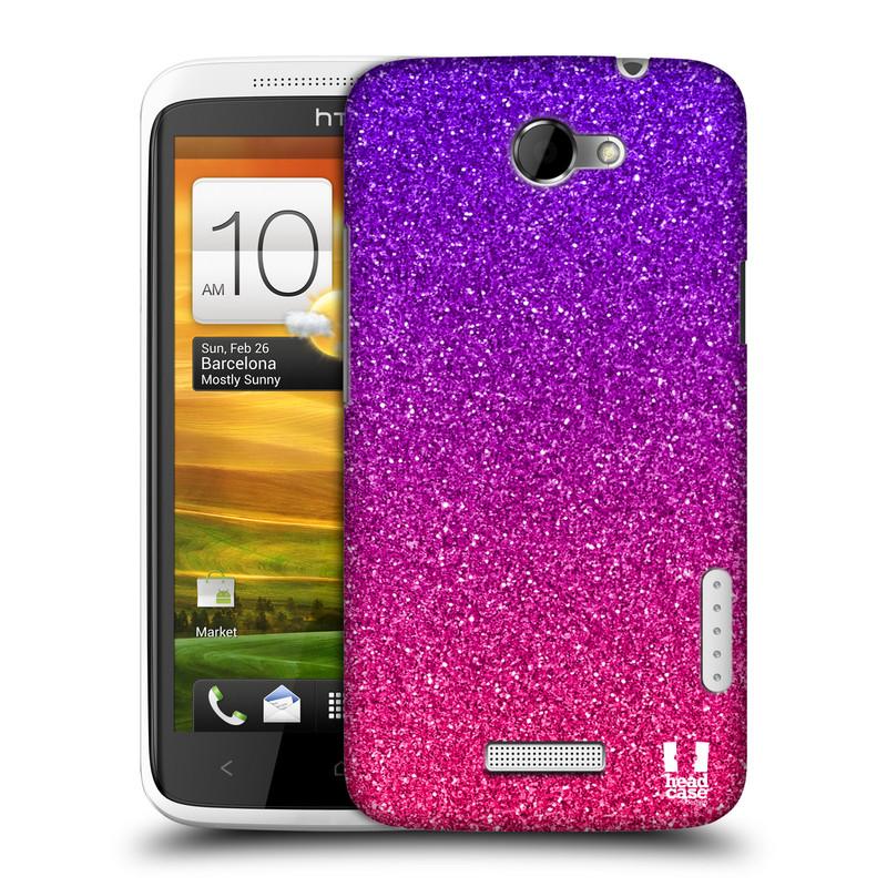 Plastové pouzdro na mobil HTC ONE X HEAD CASE MIX PINK (Kryt či obal na mobilní telefon HTC ONE X)