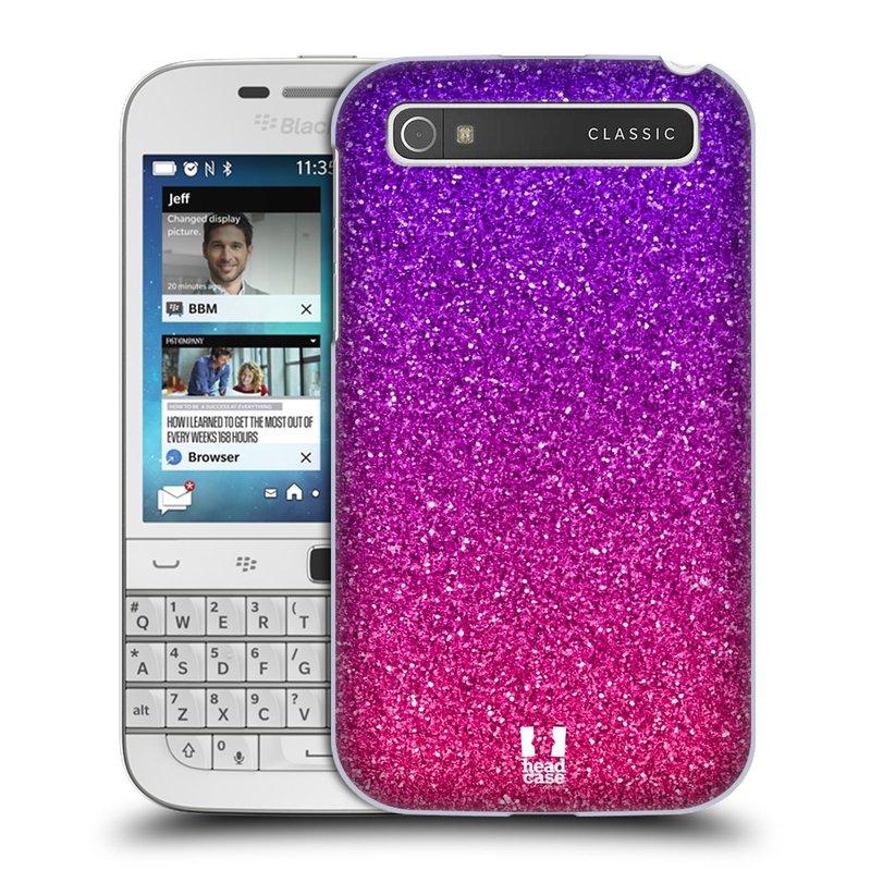 Plastové pouzdro na mobil Blackberry Classic HEAD CASE MIX PINK (Kryt či obal na mobilní telefon Blackberry Classic)