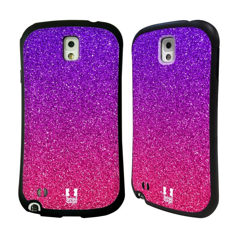 Nárazuvzdorné pouzdro na mobil Samsung Galaxy Note 3 HEAD CASE MIX PINK (Odolný nárazuvzdorný silikonový kryt či obal na mobilní telefon Samsung Galaxy Note 3 SM-N9005)