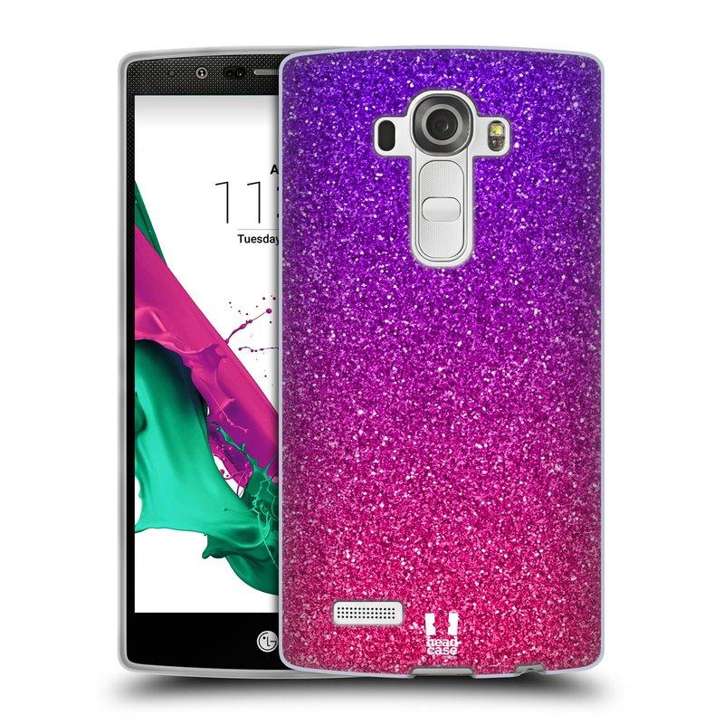 Silikonové pouzdro na mobil LG G4 HEAD CASE MIX PINK (Silikonový kryt či obal na mobilní telefon LG G4 H815)
