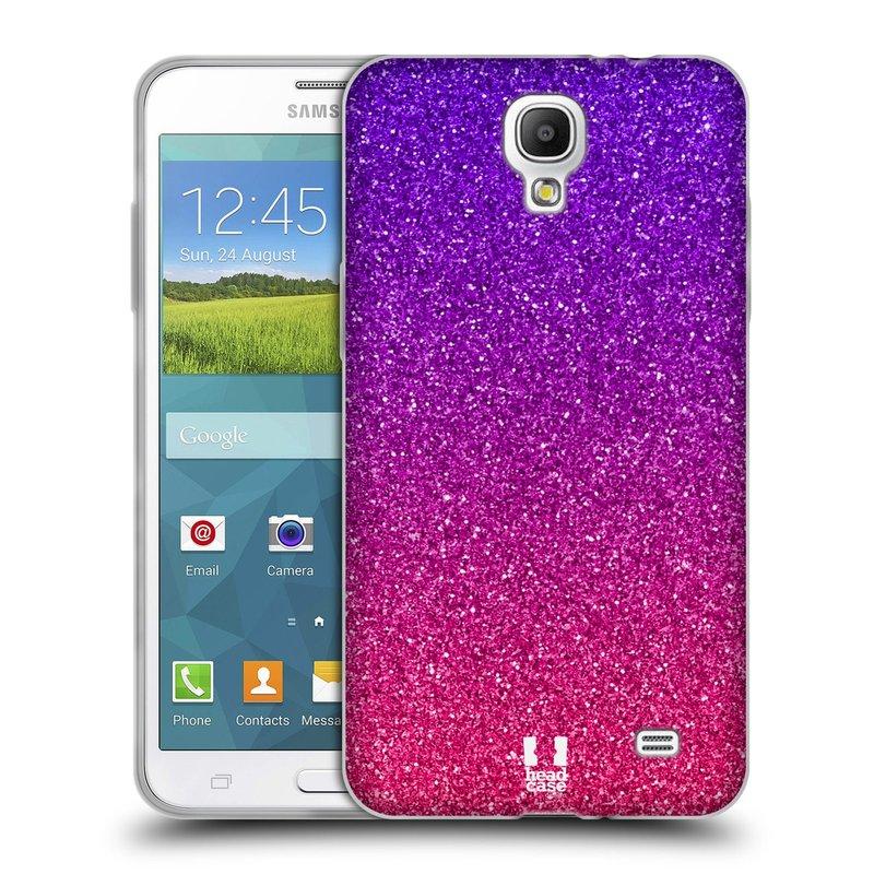 Silikonové pouzdro na mobil Samsung Galaxy Grand Mega 2 HEAD CASE MIX PINK (Silikonový kryt či obal na mobilní telefon Samsung Galaxy Grand Mega 2 SM-G750)