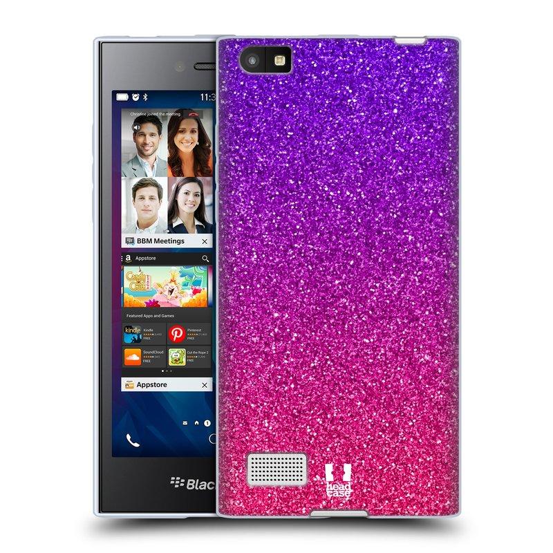 Silikonové pouzdro na mobil Blackberry Leap HEAD CASE MIX PINK (Silikonový kryt či obal na mobilní telefon Blackberry Leap)