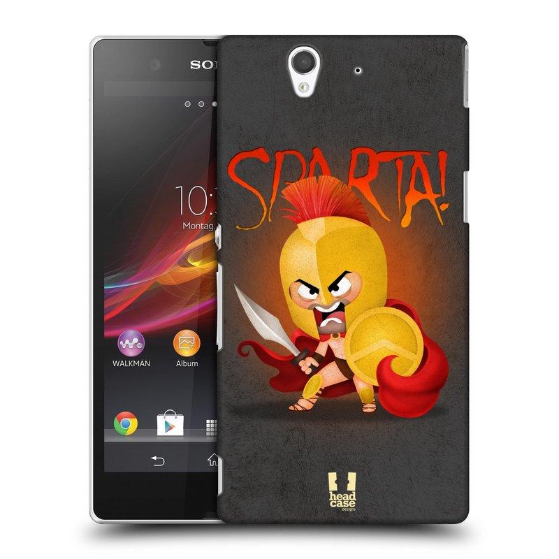 Plastové pouzdro na mobil Sony Xperia Z C6603 HEAD CASE Sparta (Kryt či obal na mobilní telefon Sony Xperia Z )