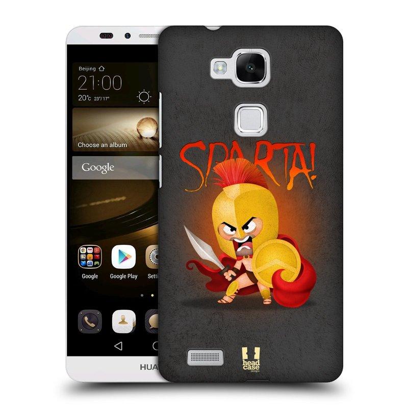Plastové pouzdro na mobil Huawei Ascend Mate 7 HEAD CASE Sparta (Kryt či obal na mobilní telefon Huawei Ascend Mate7)