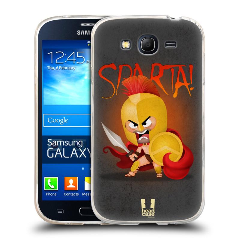 Silikonové pouzdro na mobil Samsung Galaxy Grand Neo Plus HEAD CASE Sparta (Silikonový kryt či obal na mobilní telefon Samsung Galaxy Grand Neo Plus Duos GT-I9060i)