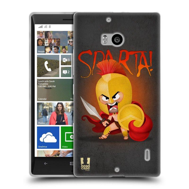 Silikonové pouzdro na mobil Nokia Lumia 930 HEAD CASE Sparta (Silikonový kryt či obal na mobilní telefon Nokia Lumia 930)