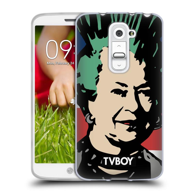 Silikonové pouzdro na mobil LG G2 Mini HEAD CASE - TVBOY - Punková Královna (Silikonový kryt či obal na mobilní telefon s licencovaným motivem TVBOY pro LG G2 Mini D620)