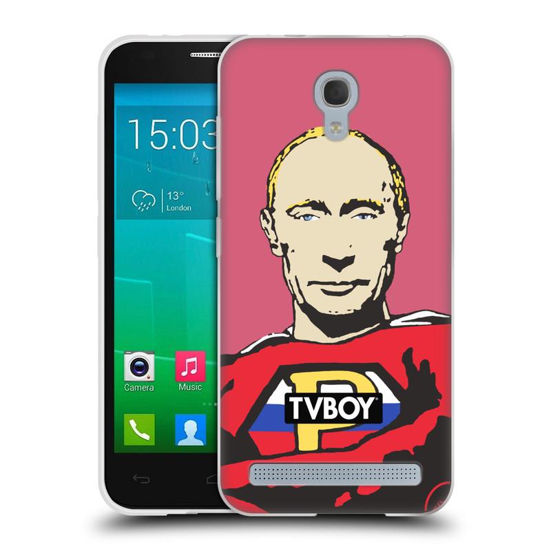 Silikonové pouzdro na mobil Alcatel One Touch Idol 2 Mini S 6036Y HEAD CASE - TVBOY - Super Putin (Silikonový kryt či obal na mobilní telefon s licencovaným motivem TVBOY pro Alcatel Idol 2 Mini S OT-6036Y)