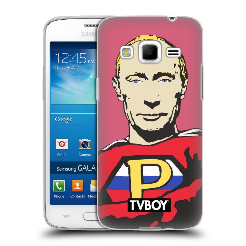 Silikonové pouzdro na mobil Samsung Galaxy Express 2 HEAD CASE - TVBOY - Super Putin (Silikonový kryt či obal na mobilní telefon s licencovaným motivem TVBOY pro Samsung Galaxy Express 2 SM-G3815)