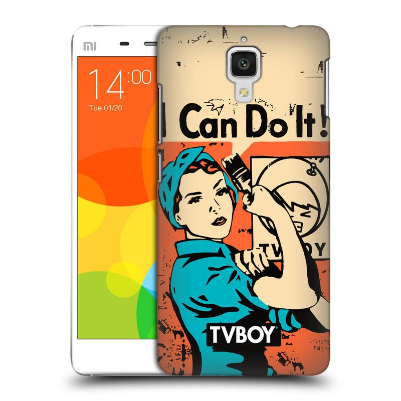 Plastové pouzdro na mobil Xiaomi Mi4 HEAD CASE - TVBOY - I can do it (Kryt či obal na mobilní telefon s licencovaným motivem TVBOY pro Xiaomi Mi4)