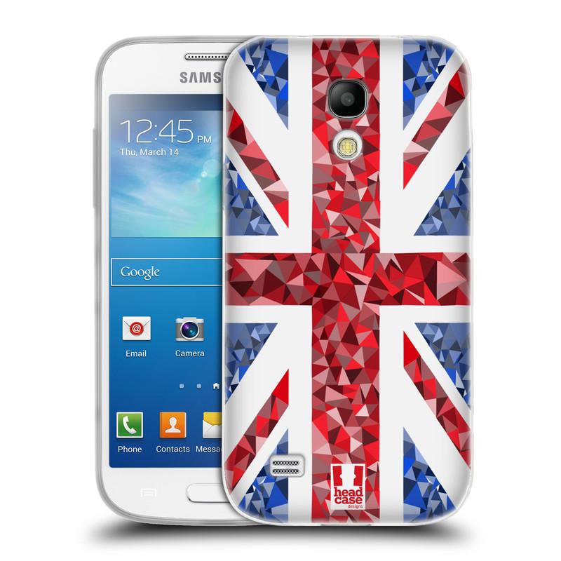 Silikonové pouzdro na mobil Samsung Galaxy S4 Mini VE HEAD CASE UNION GEOMETRIC (Silikonový kryt či obal na mobilní telefon Samsung Galaxy S4 Mini VE GT-i9195i (nepasuje na verzi Black Edition))