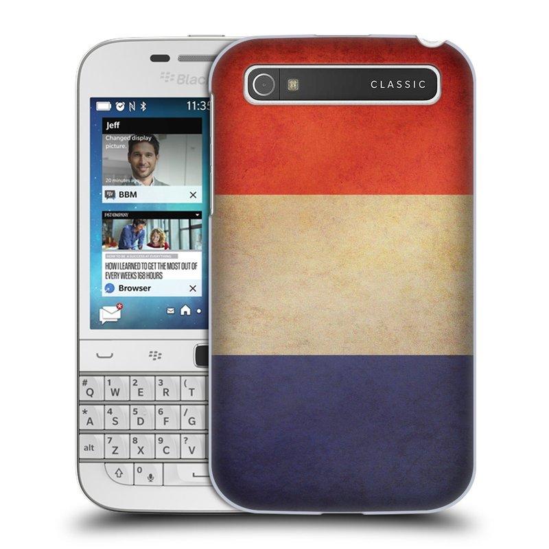 Plastové pouzdro na mobil Blackberry Classic HEAD CASE VLAJKA FRANCIE (Kryt či obal na mobilní telefon Blackberry Classic)