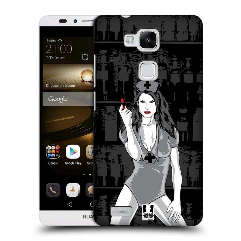 Plastové pouzdro na mobil Huawei Ascend Mate 7 HEAD CASE TESSA (Kryt či obal na mobilní telefon Huawei Ascend Mate7)