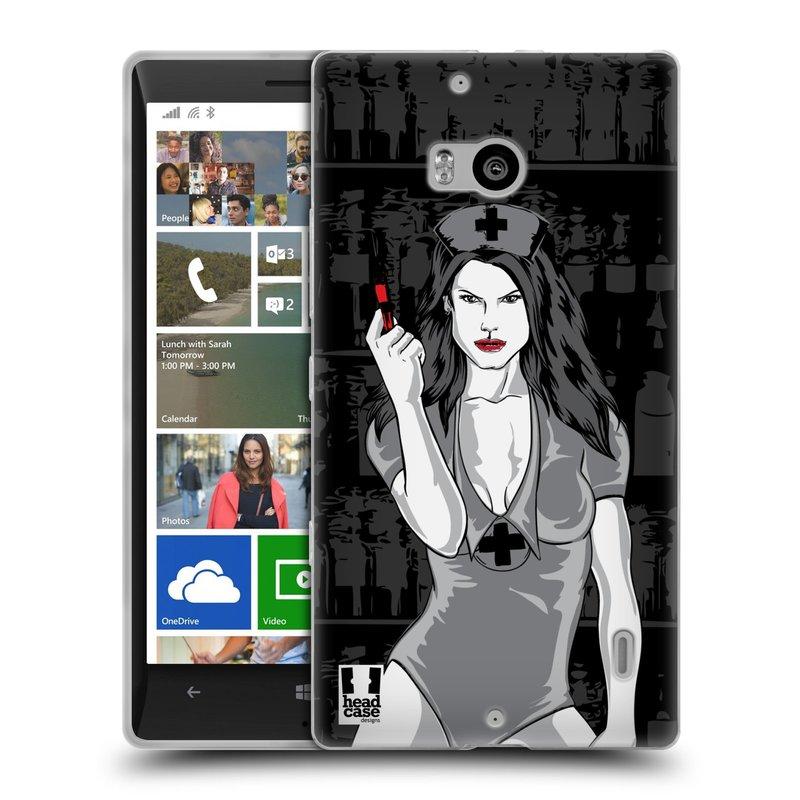 Silikonové pouzdro na mobil Nokia Lumia 930 HEAD CASE TESSA (Silikonový kryt či obal na mobilní telefon Nokia Lumia 930)