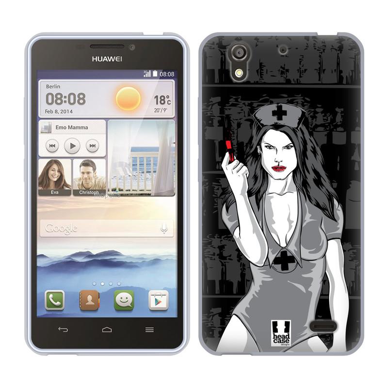 Silikonové pouzdro na mobil Huawei Ascend Y530 HEAD CASE TESSA (Silikonový kryt či obal na mobilní telefon Huawei Ascend Y530)