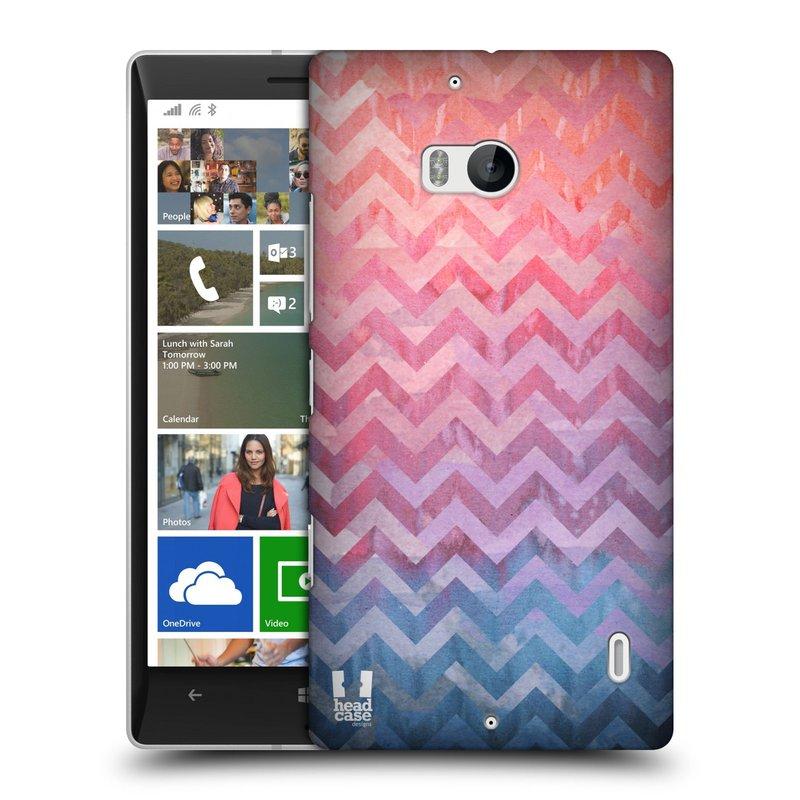 Plastové pouzdro na mobil Nokia Lumia 930 HEAD CASE Pink Chevron (Kryt či obal na mobilní telefon Nokia Lumia 930)