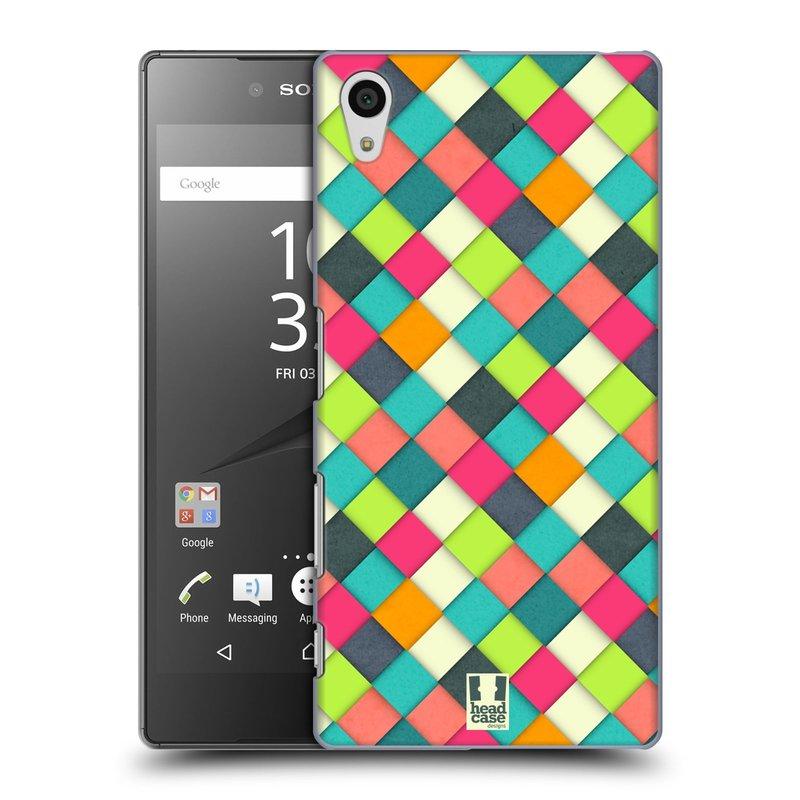 Plastové pouzdro na mobil Sony Xperia Z5 HEAD CASE WOVEN (Kryt či obal na mobilní telefon Sony Xperia Z5 E6653)