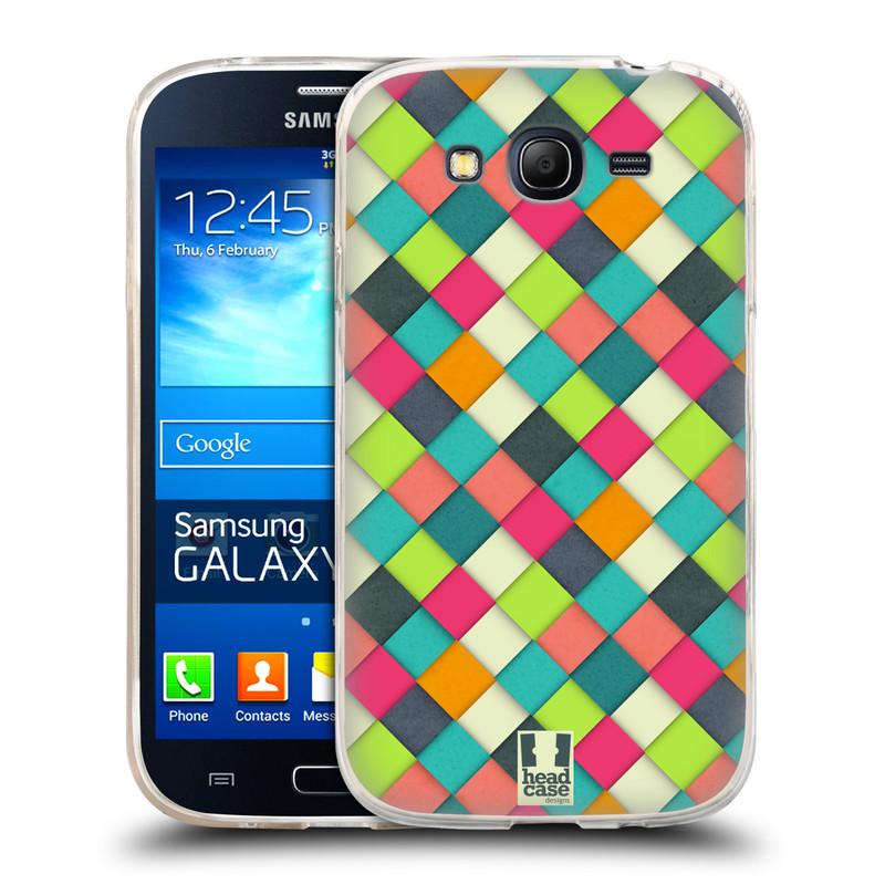 Silikonové pouzdro na mobil Samsung Galaxy Grand Neo Plus HEAD CASE WOVEN (Silikonový kryt či obal na mobilní telefon Samsung Galaxy Grand Neo Plus Duos GT-I9060i)