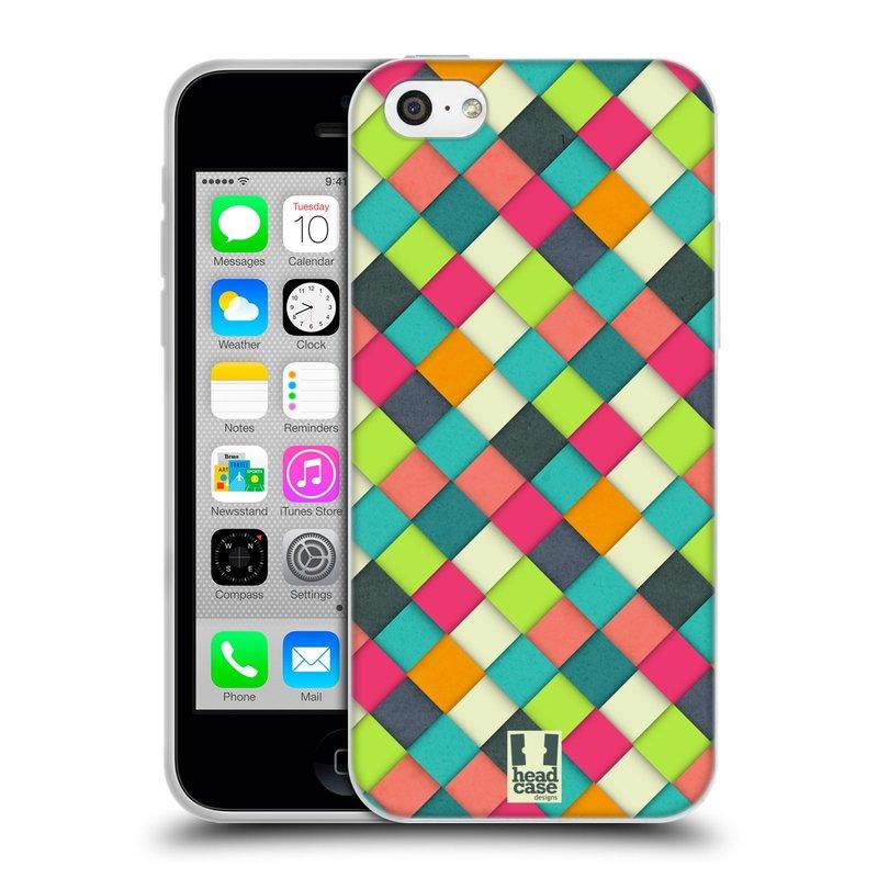 Silikonové pouzdro na mobil Apple iPhone 5C HEAD CASE WOVEN (Silikonový kryt či obal na mobilní telefon Apple iPhone 5C)