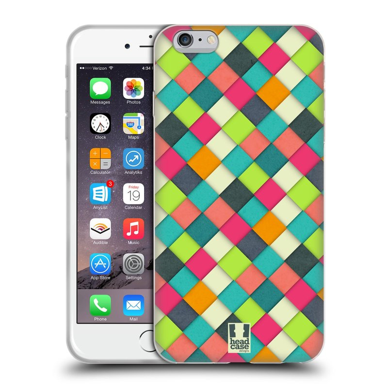 Silikonové pouzdro na mobil Apple iPhone 6 Plus a 6S Plus HEAD CASE WOVEN (Silikonový kryt či obal na mobilní telefon Apple iPhone 6 Plus a 6S Plus)