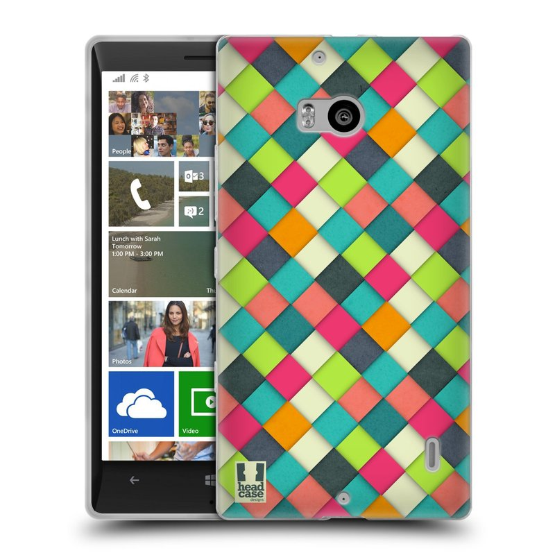 Silikonové pouzdro na mobil Nokia Lumia 930 HEAD CASE WOVEN (Silikonový kryt či obal na mobilní telefon Nokia Lumia 930)