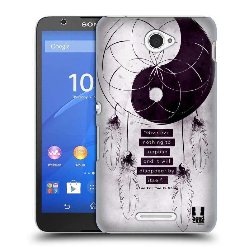 Plastové pouzdro na mobil Sony Xperia E4 E2105 HEAD CASE Yin a Yang CATCHER (Kryt či obal na mobilní telefon Sony Xperia E4 a E4 Dual SIM)