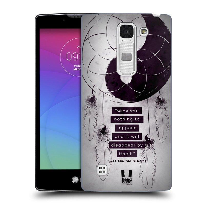 Plastové pouzdro na mobil LG Spirit LTE HEAD CASE Yin a Yang CATCHER (Kryt či obal na mobilní telefon LG Spirit H420 a LG Spirit LTE H440N)