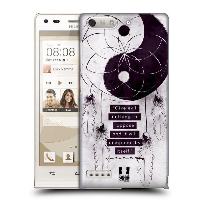 Plastové pouzdro na mobil Huawei Ascend G6 HEAD CASE Yin a Yang CATCHER (Kryt či obal na mobilní telefon Huawei Ascend G6 bez LTE)