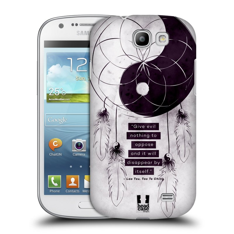Plastové pouzdro na mobil Samsung Galaxy Express HEAD CASE Yin a Yang CATCHER (Kryt či obal na mobilní telefon Samsung Galaxy Express GT-i8730)