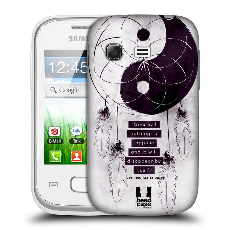 Plastové pouzdro na mobil Samsung Galaxy Pocket HEAD CASE Yin a Yang CATCHER (Kryt či obal na mobilní telefon Samsung Galaxy Pocket GT-S5300)
