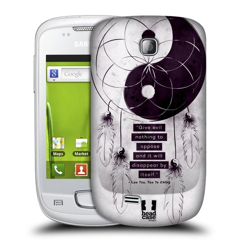 Plastové pouzdro na mobil Samsung Galaxy Mini HEAD CASE Yin a Yang CATCHER (Kryt či obal na mobilní telefon Samsung Galaxy Mini GT-S5570 / GT-S5570i)