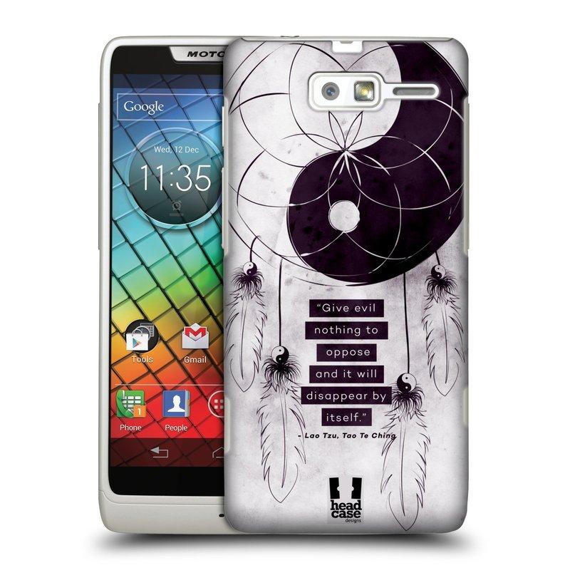 Plastové pouzdro na mobil Motorola Razr i XT890 HEAD CASE Yin a Yang CATCHER (Kryt či obal na mobilní telefon Motorola Razr i XT890)