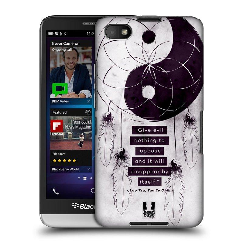 Plastové pouzdro na mobil Blackberry Z30 HEAD CASE Yin a Yang CATCHER (Kryt či obal na mobilní telefon Blackberry Z30)