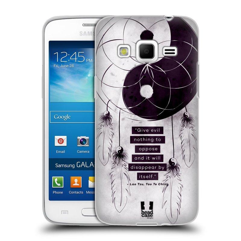 Silikonové pouzdro na mobil Samsung Galaxy Express 2 HEAD CASE YIn a Yang CATCHER (Silikonový kryt či obal na mobilní telefon Samsung Galaxy Express 2 SM-G3815)