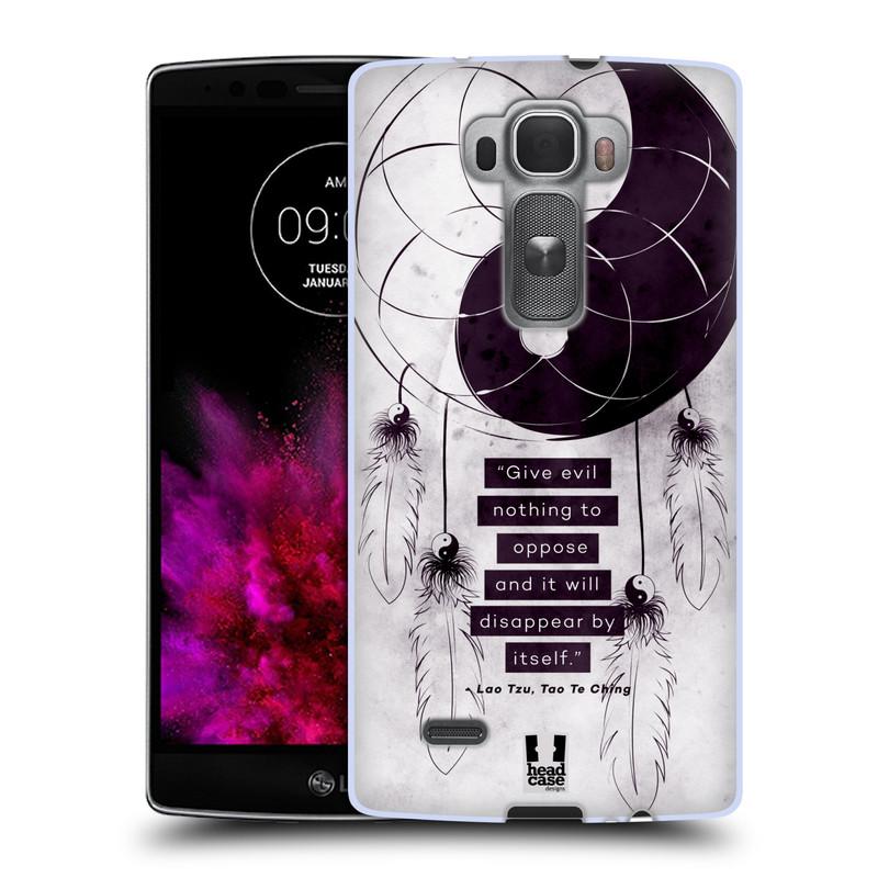 Silikonové pouzdro na mobil LG G Flex 2 HEAD CASE YIn a Yang CATCHER (Silikonový kryt či obal na mobilní telefon LG G Flex 2 H955)
