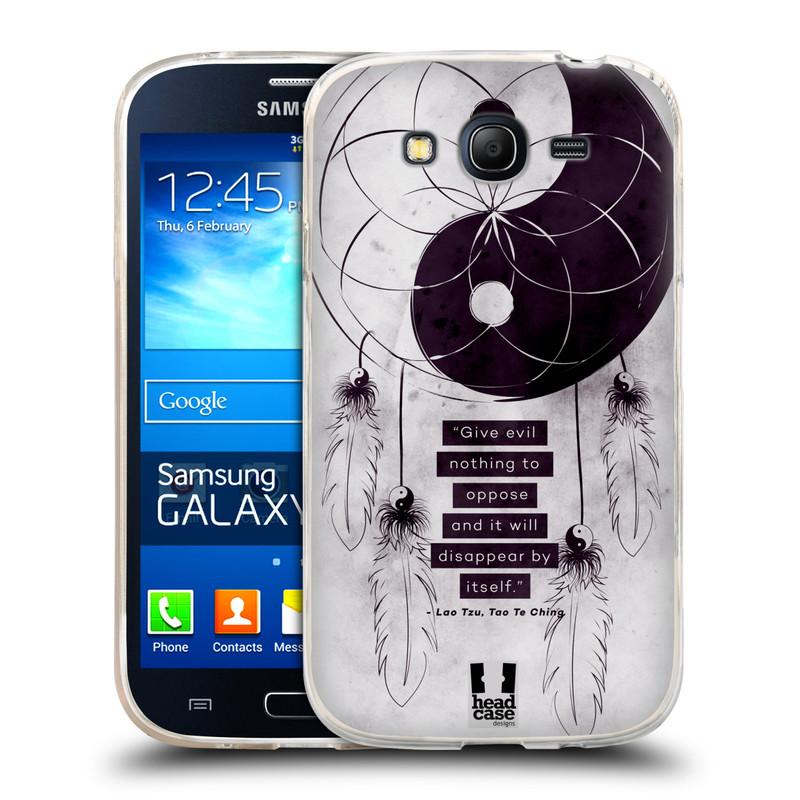 Silikonové pouzdro na mobil Samsung Galaxy Grand Neo HEAD CASE YIn a Yang CATCHER (Silikonový kryt či obal na mobilní telefon Samsung Galaxy Grand Neo GT-I9060)