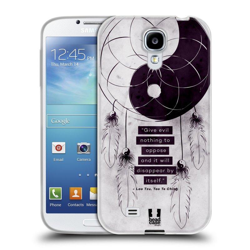 Silikonové pouzdro na mobil Samsung Galaxy S4 HEAD CASE YIn a Yang CATCHER (Silikonový kryt či obal na mobilní telefon Samsung Galaxy S4 GT-i9505 / i9500)