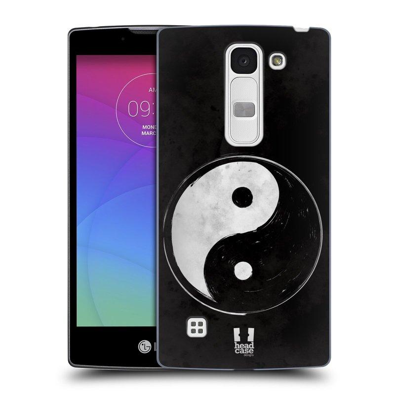 Plastové pouzdro na mobil LG Spirit LTE HEAD CASE Yin a Yang BW (Kryt či obal na mobilní telefon LG Spirit H420 a LG Spirit LTE H440N)