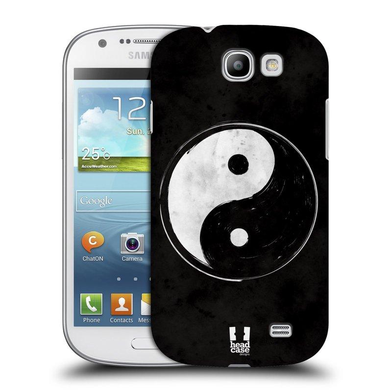 Plastové pouzdro na mobil Samsung Galaxy Express HEAD CASE Yin a Yang BW (Kryt či obal na mobilní telefon Samsung Galaxy Express GT-i8730)