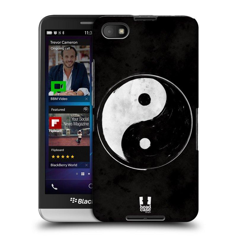 Plastové pouzdro na mobil Blackberry Z30 HEAD CASE Yin a Yang BW (Kryt či obal na mobilní telefon Blackberry Z30)