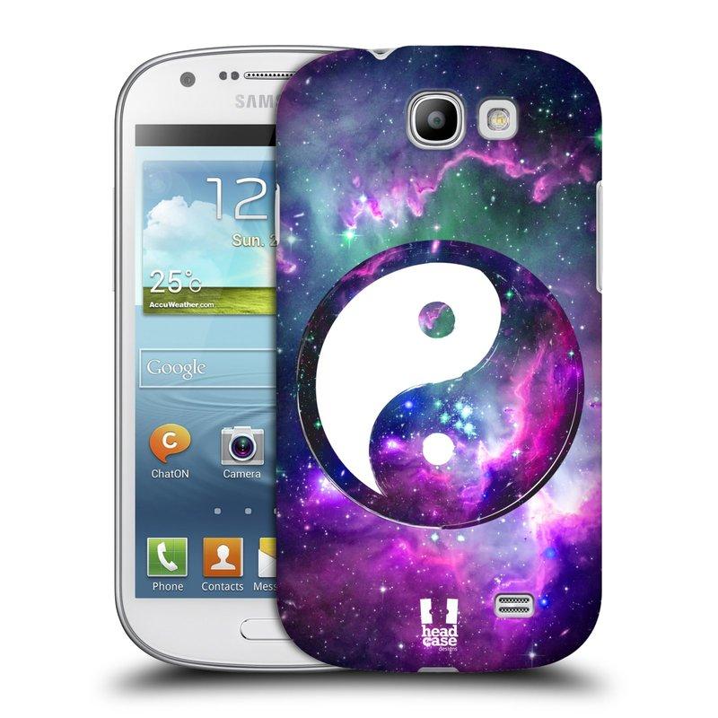 Plastové pouzdro na mobil Samsung Galaxy Express HEAD CASE Yin a Yang PURPLE (Kryt či obal na mobilní telefon Samsung Galaxy Express GT-i8730)