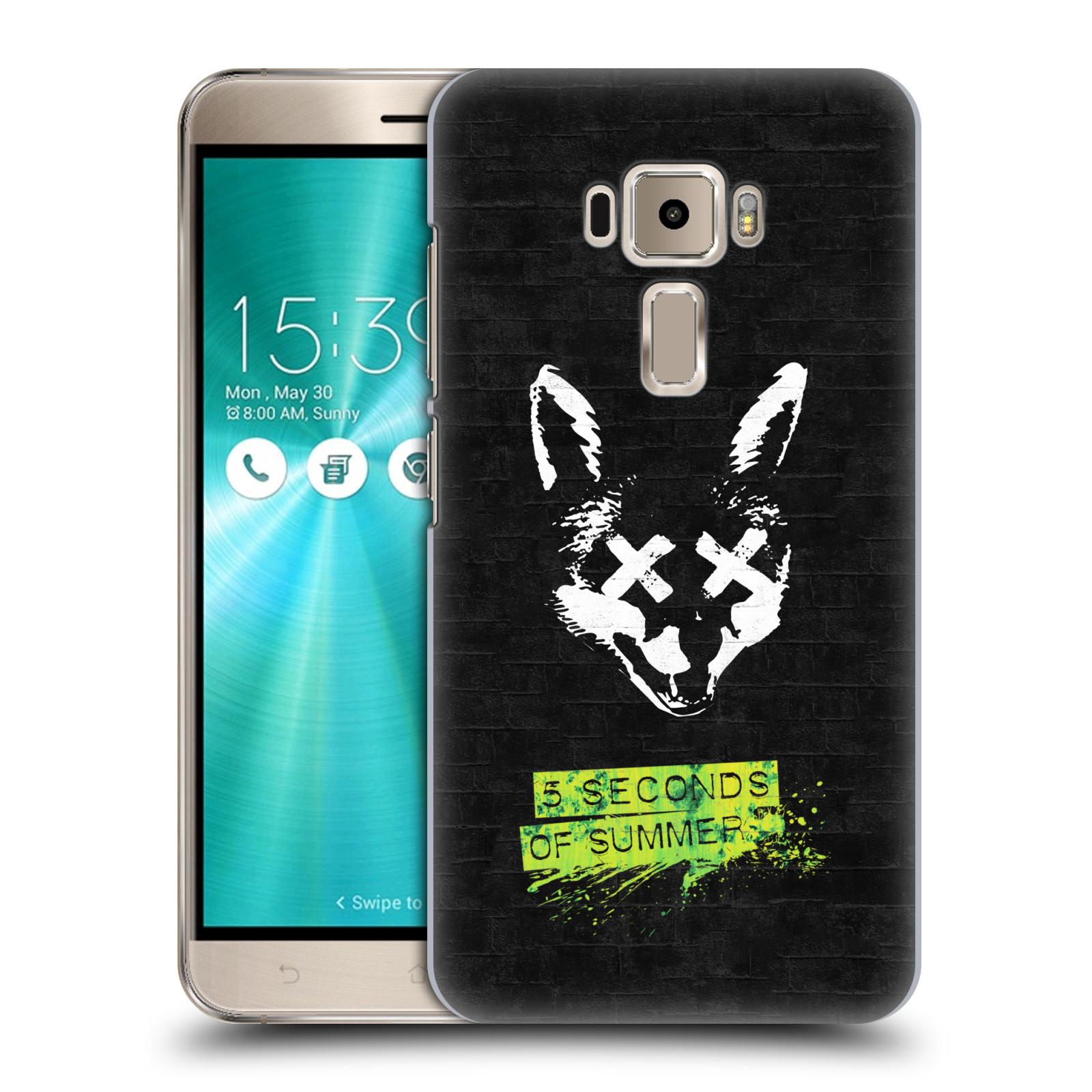Plastové pouzdro na mobil Asus ZenFone 3 ZE520KL HEAD CASE 5 Seconds of Summer - Fox