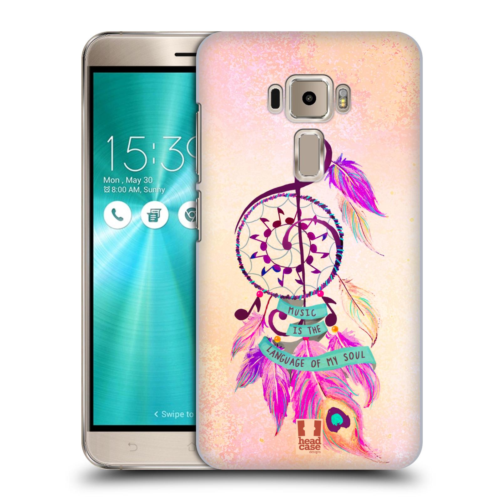 Plastové pouzdro na mobil Asus ZenFone 3 ZE520KL HEAD CASE Lapač Assorted Music
