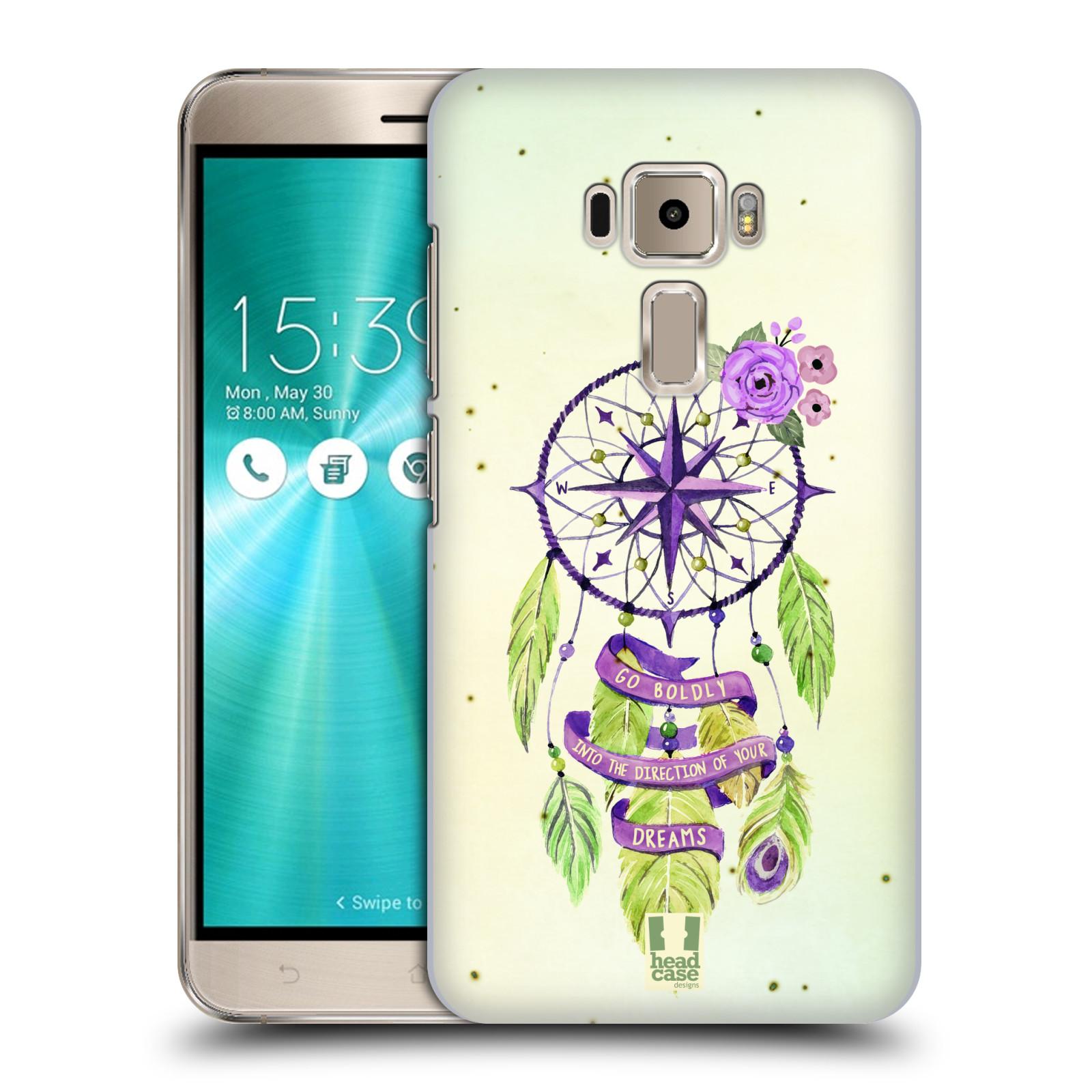 Plastové pouzdro na mobil Asus ZenFone 3 ZE520KL HEAD CASE Lapač Assorted Compass